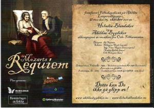 Mozart flyer