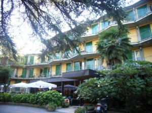 Hotel Palme, inngang