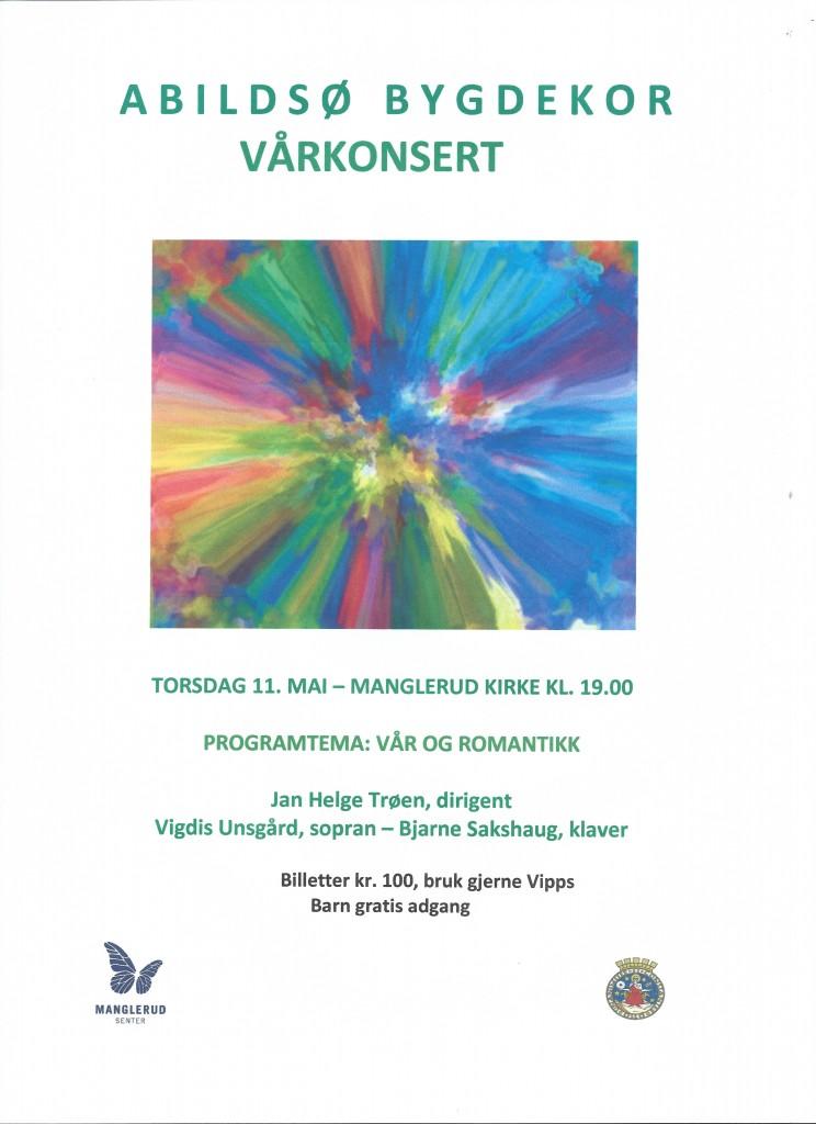 Plakat vårfest 11.05.17